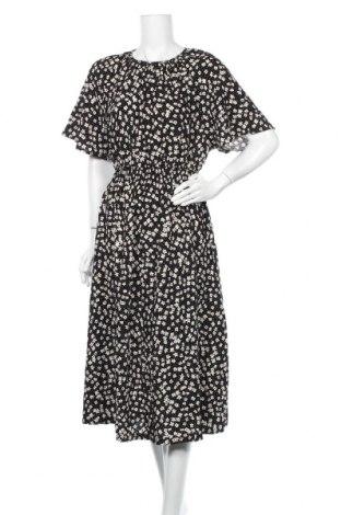 Рокля H&M, Размер M, Цвят Черен, Вискоза, Цена 26,93лв.
