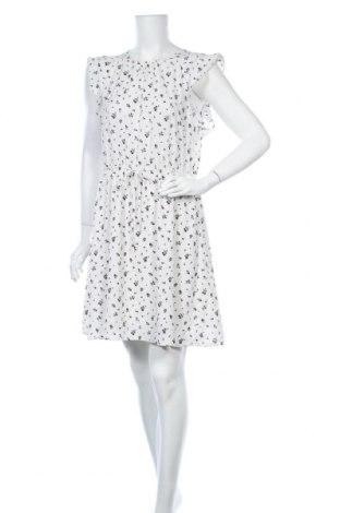 Рокля H&M, Размер L, Цвят Бял, 97% полиестер, 3% еластан, Цена 23,10лв.
