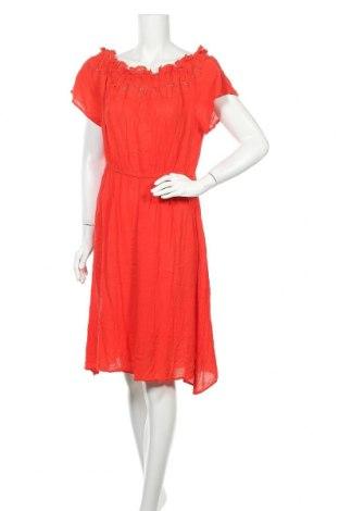 Φόρεμα H&M L.O.G.G., Μέγεθος XL, Χρώμα Κόκκινο, Βισκόζη, Τιμή 16,89€