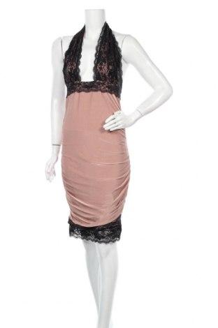 Φόρεμα Honor Gold, Μέγεθος L, Χρώμα  Μπέζ, 95% πολυεστέρας, 5% ελαστάνη, Τιμή 10,46€