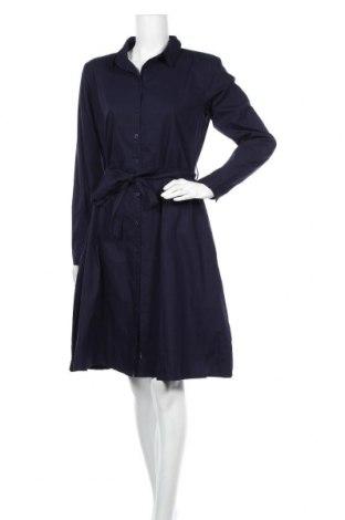 Φόρεμα Ichi, Μέγεθος L, Χρώμα Μπλέ, Βαμβάκι, Τιμή 19,56€