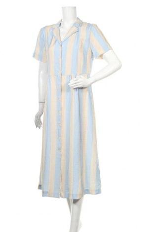 Φόρεμα Ichi, Μέγεθος M, Χρώμα  Μπέζ, 80% βισκόζη, 20% πολυαμίδη, Τιμή 37,11€