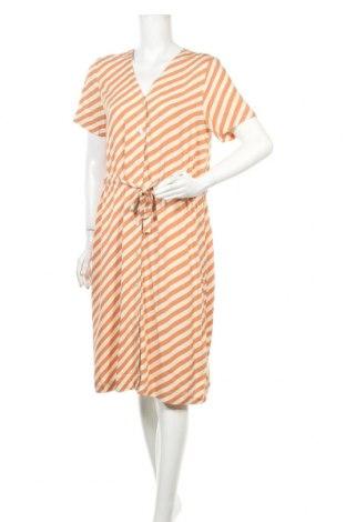 Φόρεμα Ichi, Μέγεθος S, Χρώμα  Μπέζ, Βισκόζη, Τιμή 37,11€
