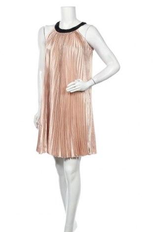 Φόρεμα Ichi, Μέγεθος M, Χρώμα  Μπέζ, Πολυεστέρας, Τιμή 18,84€