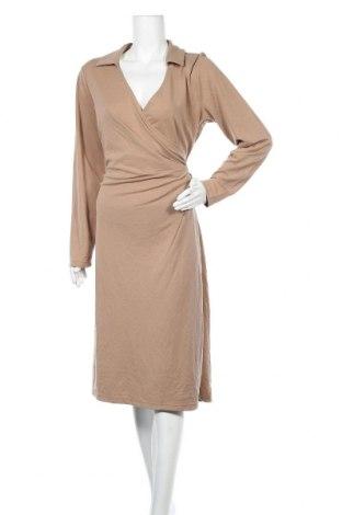 Φόρεμα In Wear, Μέγεθος XXL, Χρώμα  Μπέζ, 70% μοντάλ, 30% πολυεστέρας, Τιμή 25,27€