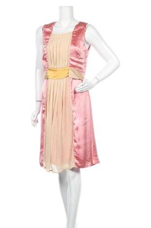 Φόρεμα Indiska, Μέγεθος L, Χρώμα Ρόζ , 90% πολυεστέρας, 10% ελαστάνη, Τιμή 17,15€