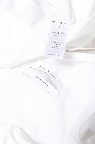 Рокля Ivy & Oak, Размер L, Цвят Бял, 97% памук, 3% еластан, Цена 166,50лв.