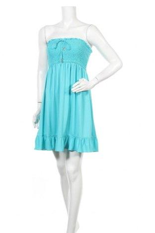 Φόρεμα Juicy Couture, Μέγεθος M, Χρώμα Μπλέ, 92% πολυεστέρας, 8% ελαστάνη, Τιμή 24,68€