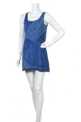 Φόρεμα Kenny S., Μέγεθος M, Χρώμα Μπλέ, 75% βαμβάκι, 25% πολυεστέρας, Τιμή 18,19€