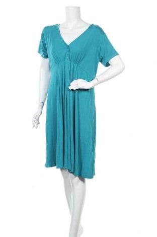 Φόρεμα Kiabi, Μέγεθος XL, Χρώμα Μπλέ, 95% βισκόζη, 5% ελαστάνη, Τιμή 24,55€