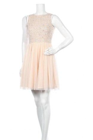Рокля Lace & Beads, Размер S, Цвят Бежов, Полиестер, Цена 36,12лв.
