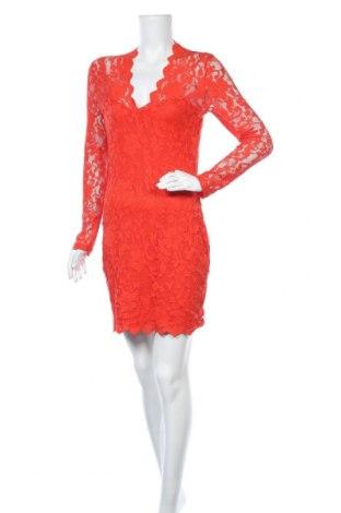 Φόρεμα Laura Scott, Μέγεθος M, Χρώμα Κόκκινο, 95% πολυεστέρας, 5% ελαστάνη, Τιμή 16,89€