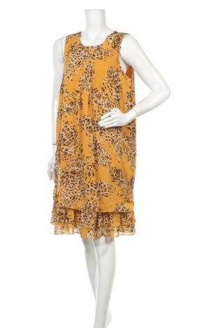 Φόρεμα Laura Torelli, Μέγεθος M, Χρώμα Κίτρινο, Πολυεστέρας, Τιμή 17,54€