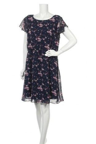 Φόρεμα Laura Torelli, Μέγεθος L, Χρώμα Μπλέ, Πολυεστέρας, Τιμή 16,89€