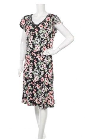 Φόρεμα Laura Torelli, Μέγεθος M, Χρώμα Μαύρο, 95% βισκόζη, 5% ελαστάνη, Τιμή 27,28€