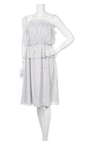 Φόρεμα Lost Ink, Μέγεθος M, Χρώμα Γκρί, Πολυεστέρας, Τιμή 14,36€