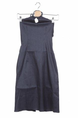 Φόρεμα Love Moschino, Μέγεθος XS, Χρώμα Μπλέ, Βαμβάκι, Τιμή 114,42€