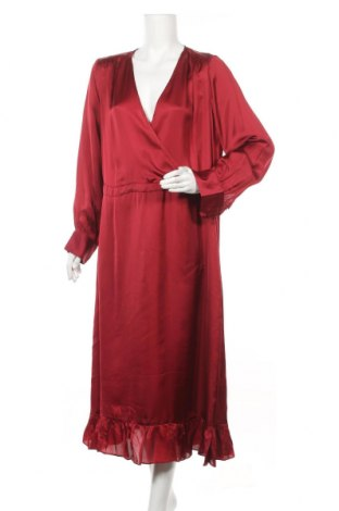 Rochie MOS MOSH, Mărime XL, Culoare Roșu, Cupro, Preț 101,84 Lei