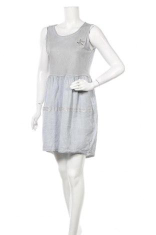 Φόρεμα Made In Italy, Μέγεθος XL, Χρώμα Μπλέ, 60% λινό, 40% βαμβάκι, Τιμή 16,37€