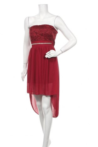 Φόρεμα Made In Italy, Μέγεθος S, Χρώμα Κόκκινο, Πολυεστέρας, Τιμή 27,28€