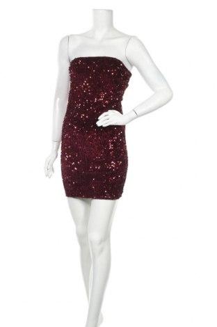 Φόρεμα Madonna, Μέγεθος S, Χρώμα Βιολετί, 65% πολυαμίδη, 30% βισκόζη, 5% ελαστάνη, Τιμή 5,00€