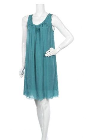 Φόρεμα Massimo Dutti, Μέγεθος XL, Χρώμα Μπλέ, Μετάξι, Τιμή 53,26€