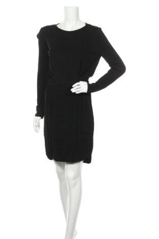 Рокля Max&Co., Размер S, Цвят Черен, Вискоза, Цена 61,29лв.