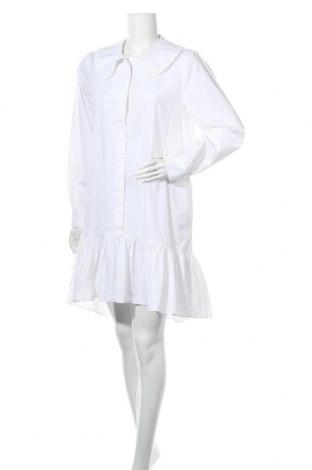 Φόρεμα Mbym, Μέγεθος L, Χρώμα Λευκό, Βαμβάκι, Τιμή 28,10€