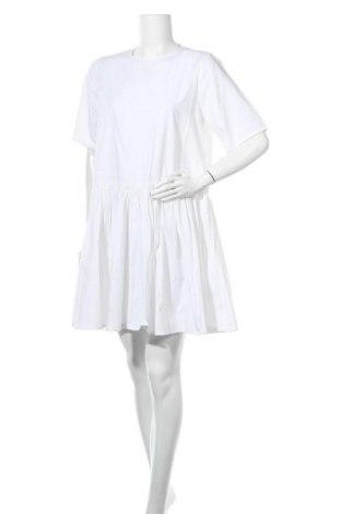 Φόρεμα Mbym, Μέγεθος M, Χρώμα Λευκό, 55% πολυεστέρας, 45% βαμβάκι, Τιμή 15,34€