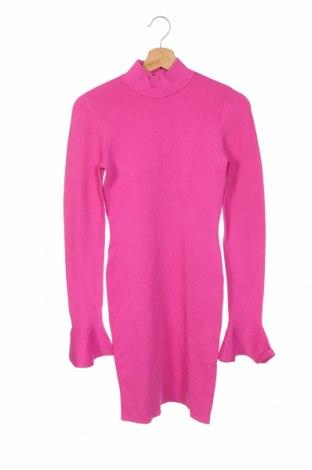 Рокля Michael Kors, Размер XS, Цвят Розов, 63% вискоза, 37% полиамид, Цена 159,50лв.