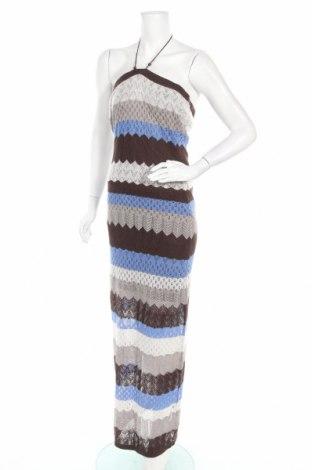 Φόρεμα Motivi, Μέγεθος L, Χρώμα Πολύχρωμο, Ακρυλικό, Τιμή 18,51€