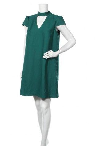 Φόρεμα Naf Naf, Μέγεθος XL, Χρώμα Πράσινο, Πολυεστέρας, Τιμή 28,58€