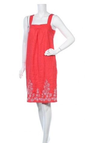 Φόρεμα Next, Μέγεθος M, Χρώμα Κόκκινο, 53% λινό, 25% πολυεστέρας, 22% βισκόζη, Τιμή 21,59€