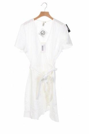 Φόρεμα Nly Trend, Μέγεθος XS, Χρώμα Λευκό, Βαμβάκι, Τιμή 18,22€