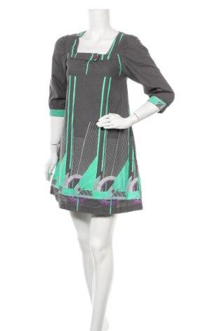 Φόρεμα Numph, Μέγεθος S, Χρώμα Γκρί, Βαμβάκι, Τιμή 18,71€