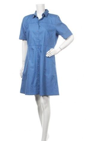 Φόρεμα Numph, Μέγεθος L, Χρώμα Μπλέ, 95% βαμβάκι, 5% ελαστάνη, Τιμή 39,89€