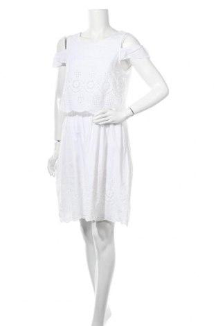 Φόρεμα Pieces, Μέγεθος M, Χρώμα Λευκό, Τιμή 15,20€
