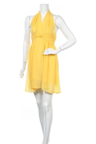 Φόρεμα Please, Μέγεθος S, Χρώμα Κίτρινο, Πολυεστέρας, Τιμή 8,20€