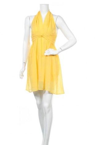 Φόρεμα Please, Μέγεθος S, Χρώμα Κίτρινο, Πολυεστέρας, Τιμή 7,17€