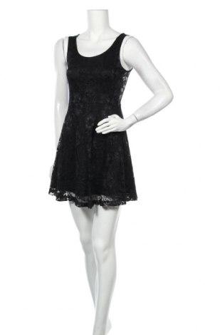 Φόρεμα Poof, Μέγεθος S, Χρώμα Μαύρο, 60% βαμβάκι, 35% πολυεστέρας, 5% ελαστάνη, Τιμή 16,37€