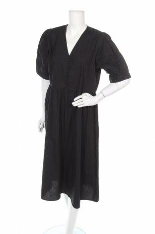 Φόρεμα Selected Femme, Μέγεθος L, Χρώμα Μαύρο, Βαμβάκι, Τιμή 16,62€