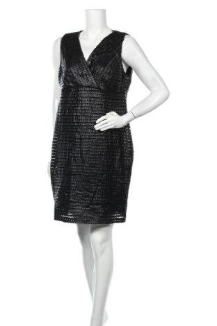 Φόρεμα Suzanne Grae, Μέγεθος XXL, Χρώμα Μαύρο, Πολυεστέρας, δερματίνη, Τιμή 18,84€
