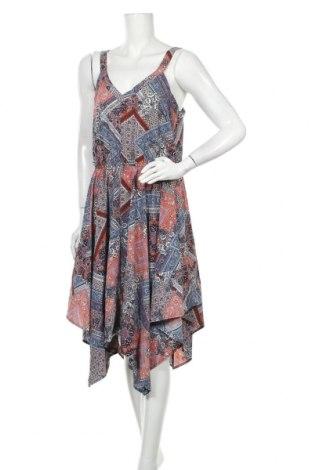 Φόρεμα Suzy Shier, Μέγεθος L, Χρώμα Πολύχρωμο, 96% πολυεστέρας, 4% ελαστάνη, Τιμή 18,19€
