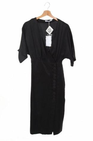 Φόρεμα Third Form, Μέγεθος XS, Χρώμα Μαύρο, 56% χαλκαμμωνία, 34% τενσελ, 10% λινό, Τιμή 50,52€