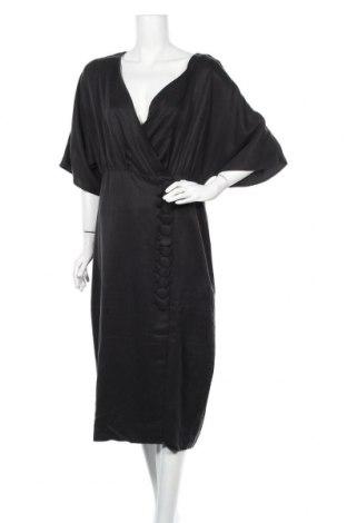 Φόρεμα Third Form, Μέγεθος L, Χρώμα Μαύρο, 56% χαλκαμμωνία, 34% τενσελ, 10% λινό, Τιμή 59,50€