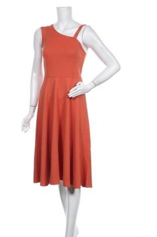 Рокля Trendyol, Размер S, Цвят Оранжев, 90% полиестер, 10% еластан, Цена 27,60лв.