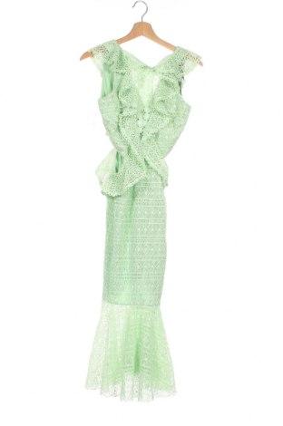 Φόρεμα True Decadence, Μέγεθος XS, Χρώμα Πράσινο, Πολυεστέρας, Τιμή 33,87€