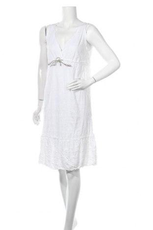 Φόρεμα United Colors Of Benetton, Μέγεθος M, Χρώμα Λευκό, 50% βαμβάκι, 50% πολυεστέρας, Τιμή 34,55€