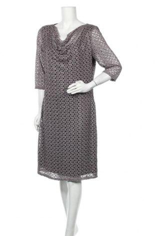 Рокля Vera Mont, Размер XL, Цвят Кафяв, Полиестер, Цена 40,16лв.