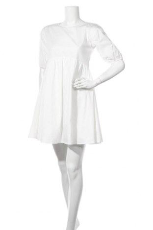 Рокля Vila, Размер XS, Цвят Бял, 64% памук, 31% полиамид, 5% еластан, Цена 48,00лв.
